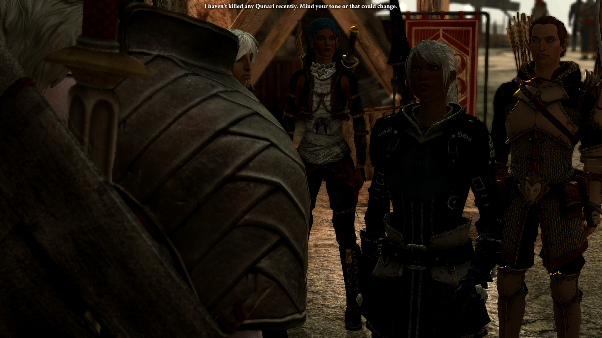 Cassia is loosing her patience with the Qunari threat