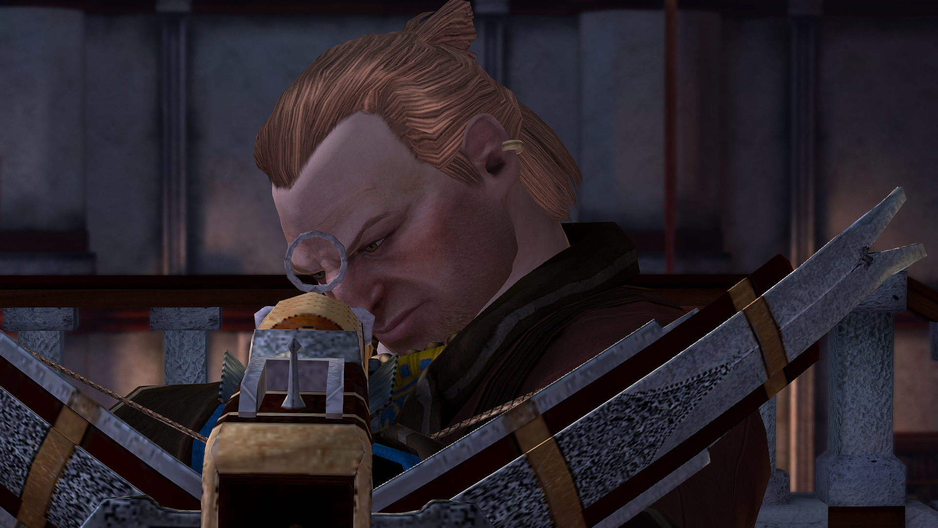 Varric the action hero!