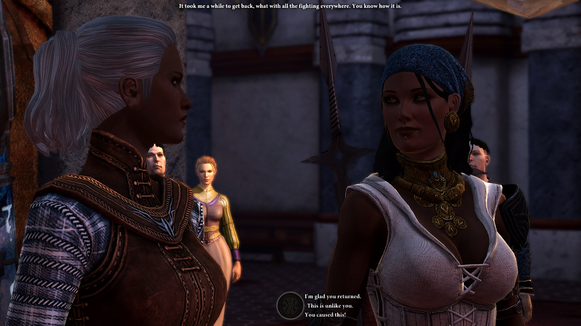 Isabela the whit knight!